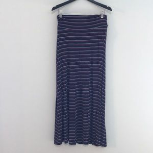 Merona Striped Maxi Skirt